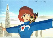 Nausicaa animation cel