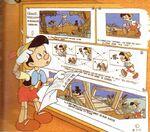 Pinocchio reads script