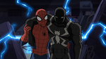 Spider-Man carrying Agent Venom USMWW