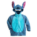Stitch character zip hoodie