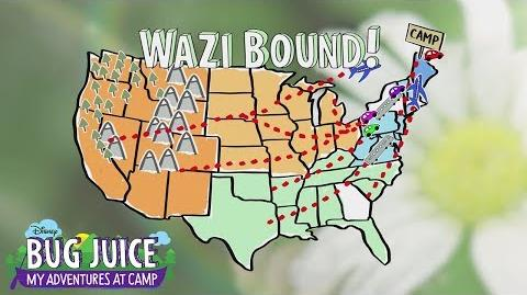 Wazi Bound (Short) Bug Juice My Adventures at Camp Disney Channel
