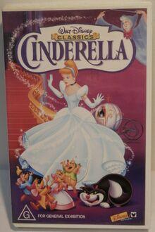 Cinderella 1999 AUS Rental VHS
