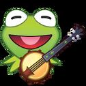 EmojiBlitzKermit-banjo