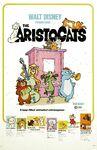 Original Aristocats Theatrical Poster
