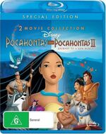 Pocahontas + Pocahontas II 2012 AUS Blu Ray
