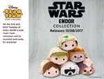 Star Wars Endor Collection Tsum Tsum Tuesday