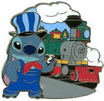 Stitch Adventure - Disney Railroad Artists Proof (AP)