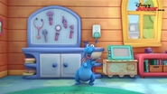 Stuffy in mcstuffins school of medicene