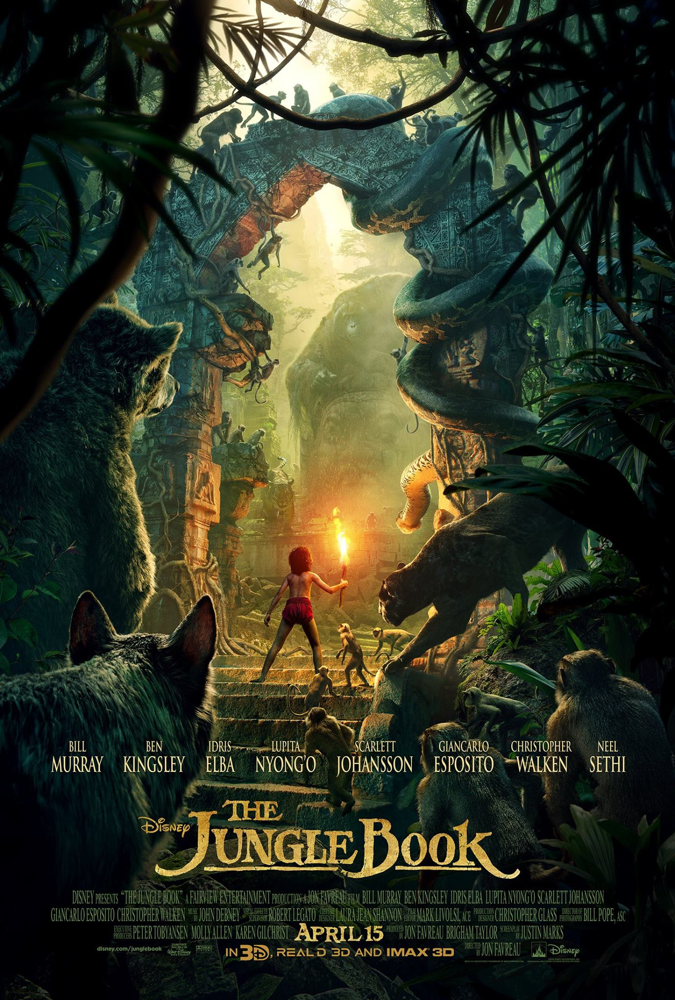 The Jungle Book 2016 Trailer 3gp