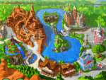 The Walt Disney World Explorer - Frontierland and Liberty Square