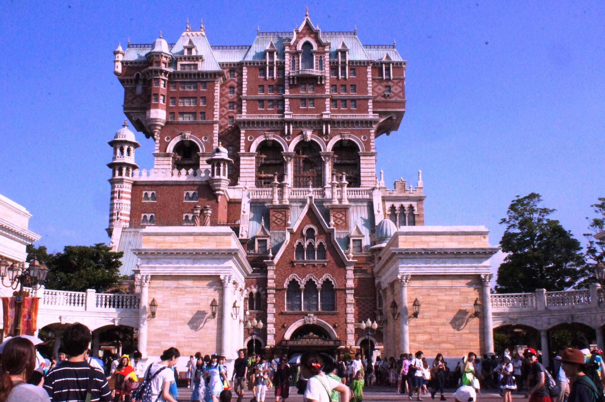 Tower Of Terror Tokyo Disneysea Disney Wiki Fandom