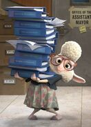 Zoomania Bellwether