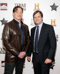 Bill Paxton & Brendan Fraser Texas Honors premiere