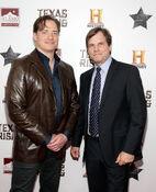 Bill Paxton & Brendan Fraser Texas Honors premiere