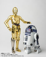 Chogokin Threepio and Artoo