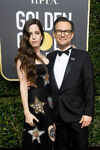 Christian Slater Brittany Lopez 75th Golden Globes
