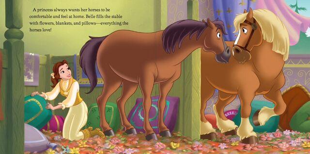 File:Disney Princess - A Horse to Love - Belle (1).jpg