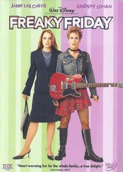 Freaky Friday 2003 DVD