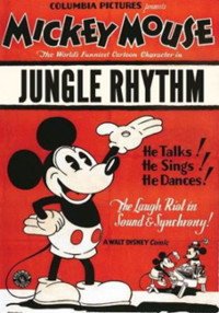 Jungle rhythm poster