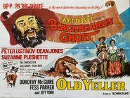 Old yeller blackbeard's ghost uk poster
