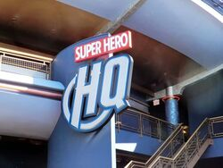 Super Hero HQ Disneyland