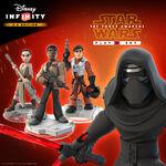 The Force Awakens DI Playset Promo