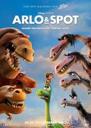 The Good Dinosaur German Poster