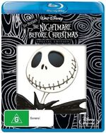 The Nightmare Before Christmas 2008 AUS Blu-Ray