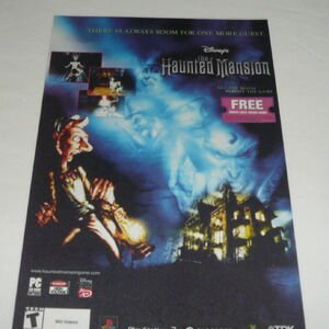 The Haunted Mansion Video Game Disney Wiki Fandom