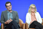 Amy Poehler & Ty Burrell Summer TCA Tour19
