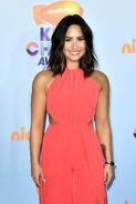 Demi Lovato at Nick KCA