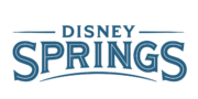 DisneySprings Offical Logo Blue