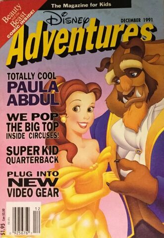File:Disney Adventures Magazine cover December 1991 Beauty and the Beast.jpg