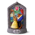 Disney Beauty and the Beast 25th Anniversary Musical Ornament - Keepsake Ornaments