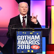 Frank Marshall speaks at Gotham Awards