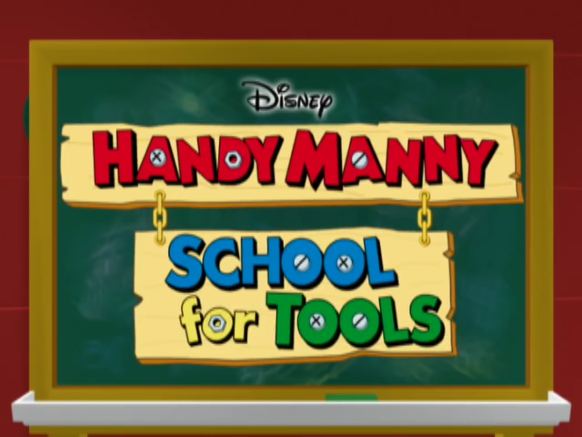handy mannys school for tools disney wiki fandom