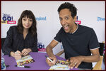 Kate Micucci and Danny Pudi