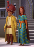 King Habib and Queen Farnaz