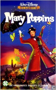 Mary Poppins 1998 Dutch VHS