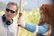 Once Upon a Time - 5x06 - The Bear and the Bow - Behind the Scenes - Merida