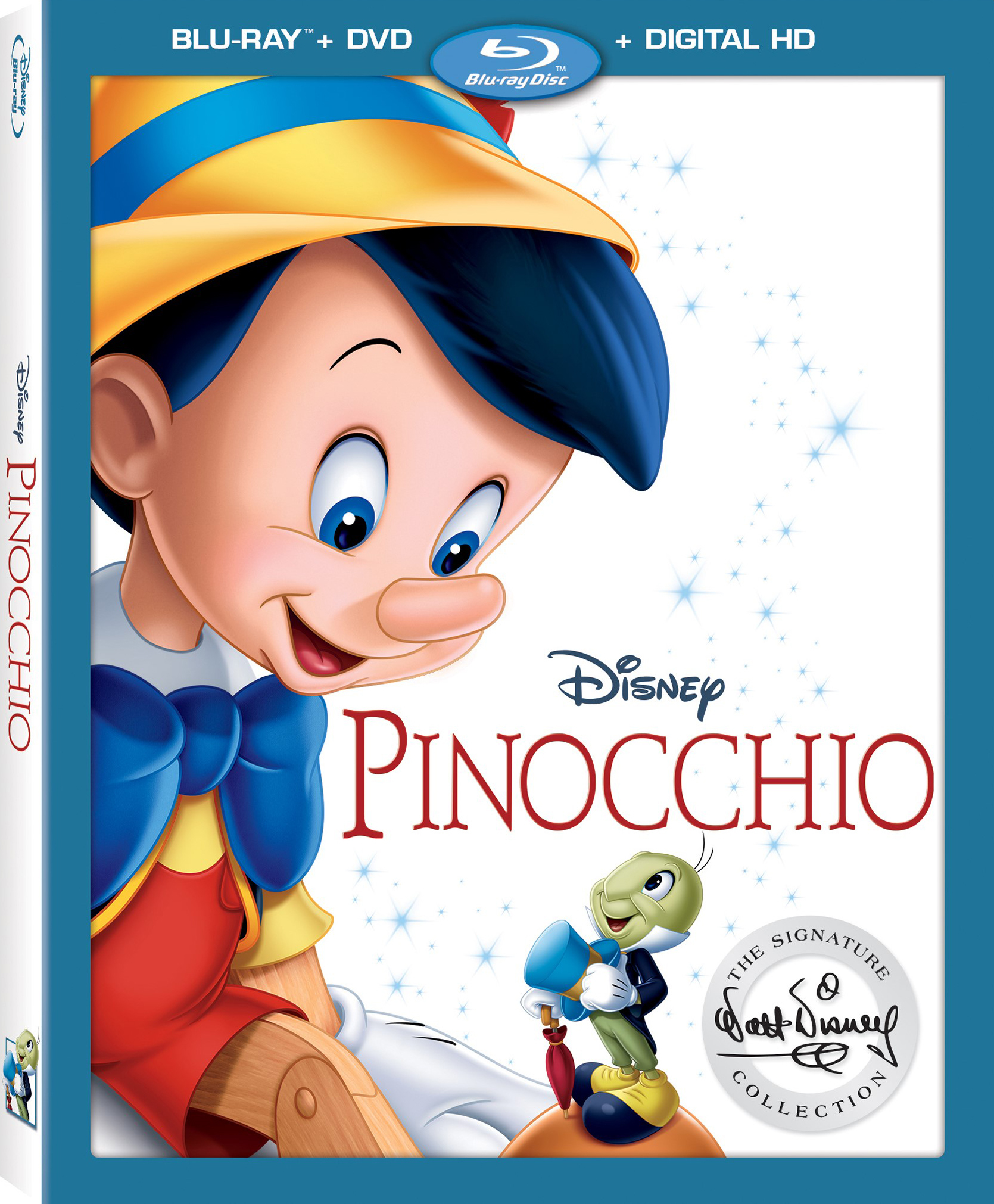 image pinocchio slipcover walt disney signature collection jpg