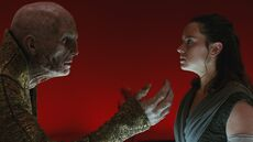 Snoke and Rey 2