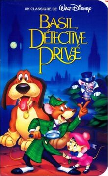 The Great Mouse Detective 1992 Canadian VHS