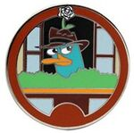 WDW - Agent P's World Showcase Adventure Mystery Collection - Agent P Germany ONLY