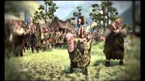 Brave (Indomable) Vídeo 'Falda escocesa' Disney · Pixar Oficial