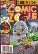 Disney Adventures Comic Zone cover Winter 2006 Chicken Little