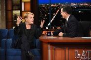Eddie Izzard visits Stephen Colbert