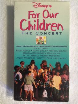 For Our Children- The Concert (VHS)