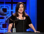 Jennifer Tilly speaks at Writers Guild