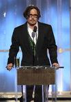 Johnny Depp 69th Golden Globes